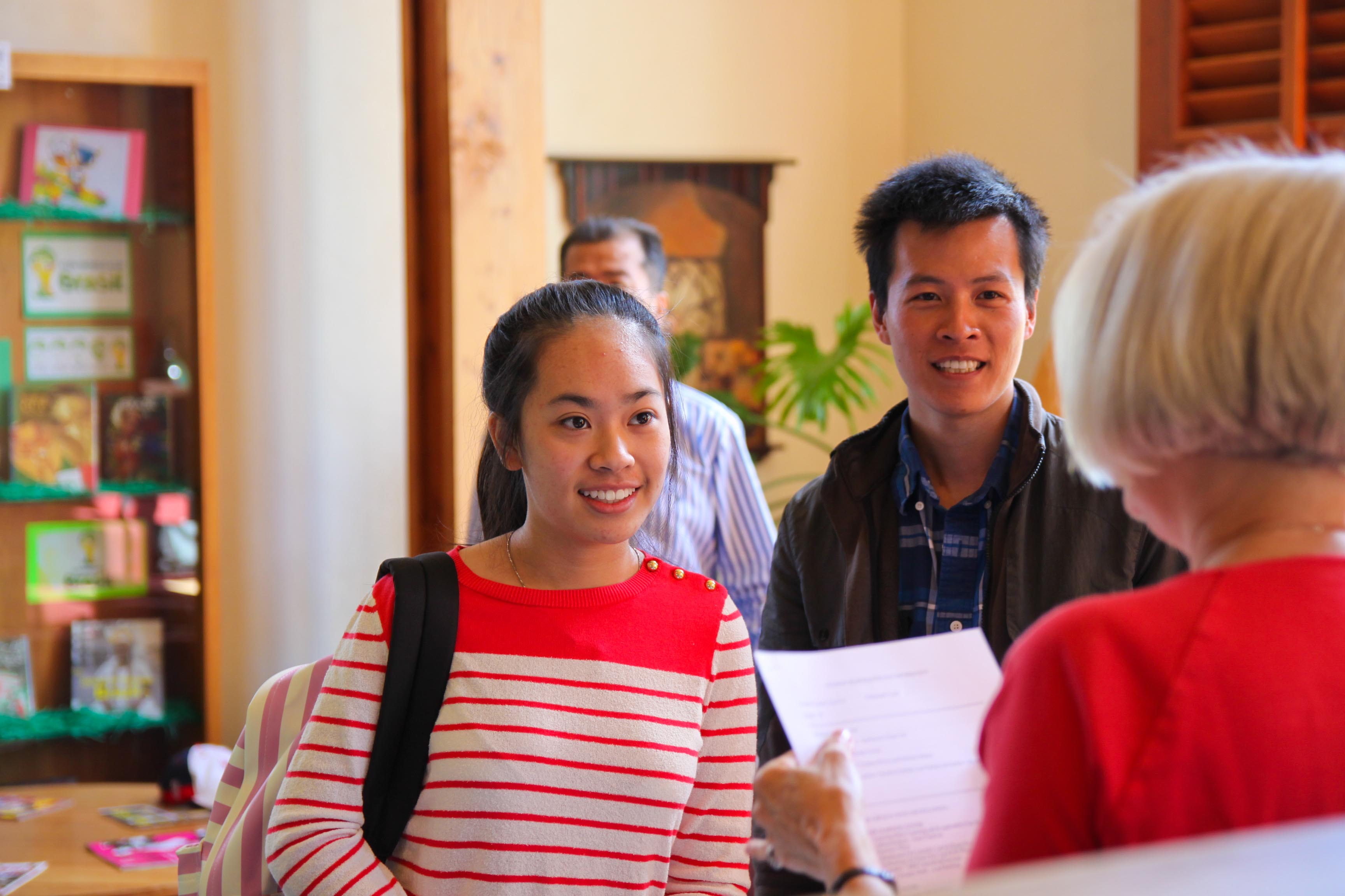 Proctor Academy Registration Day 4