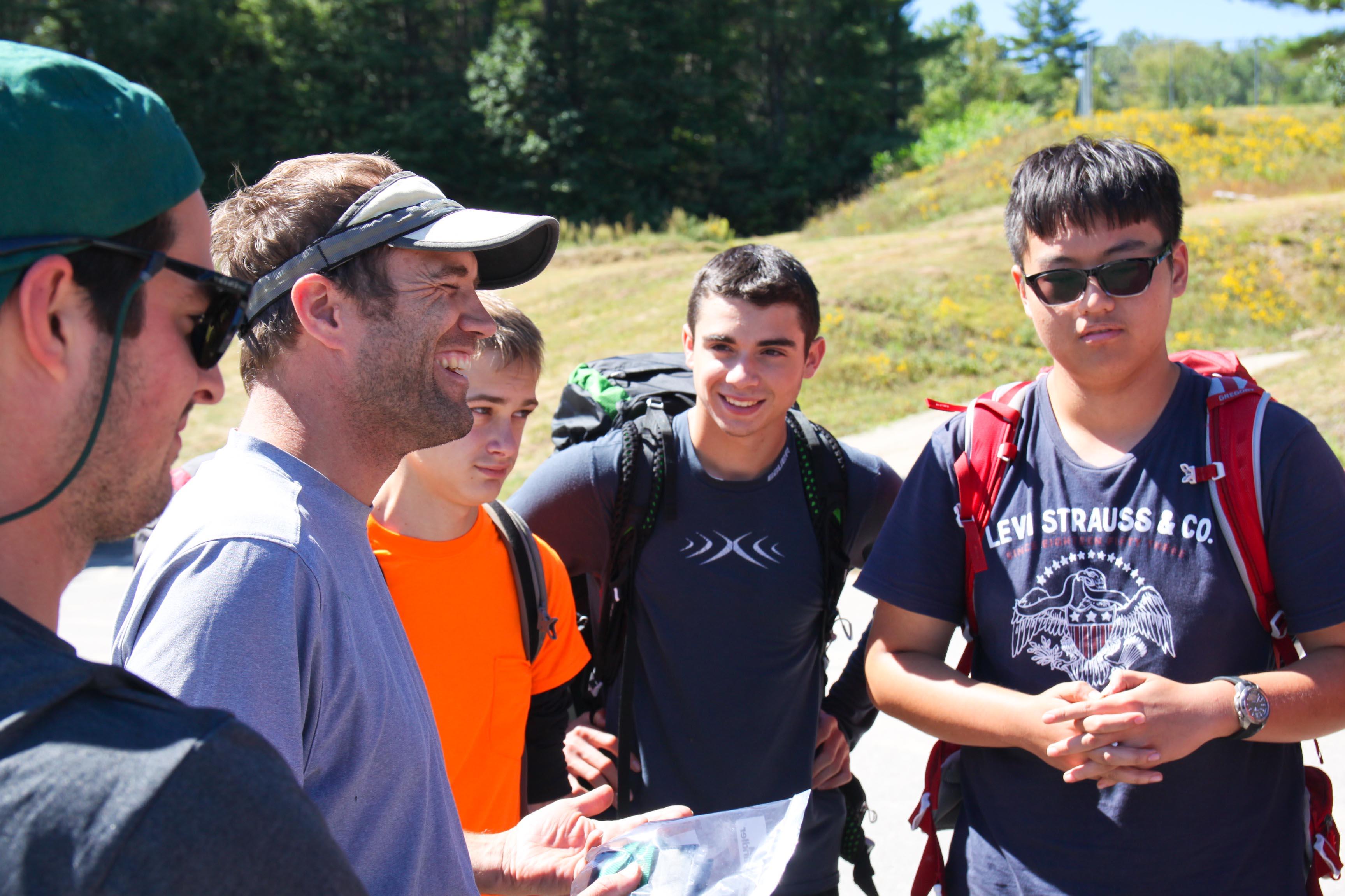 Proctor Academy Wilderness Orientation returns 3