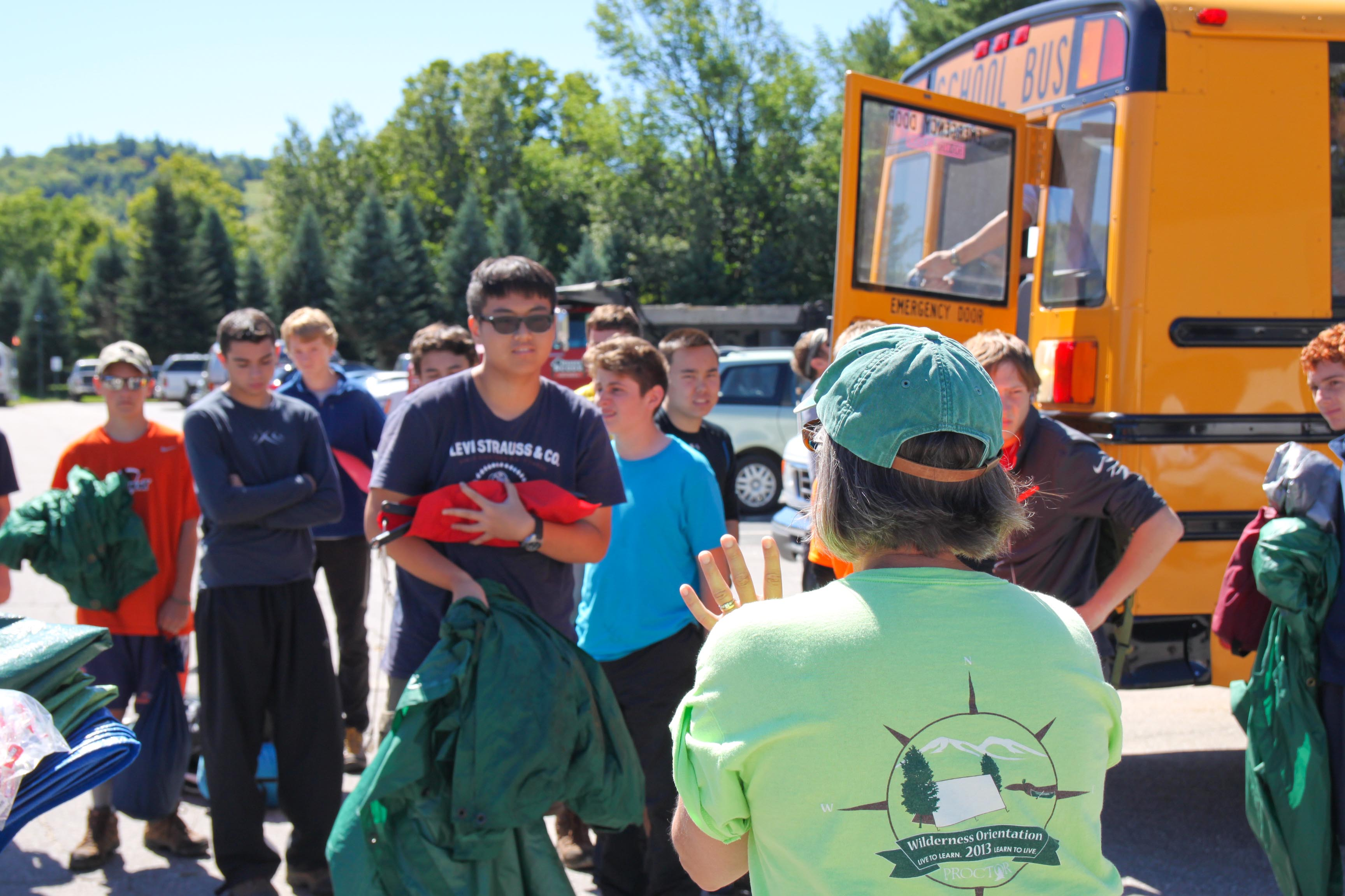 Proctor Academy Wilderness Orientation Returns