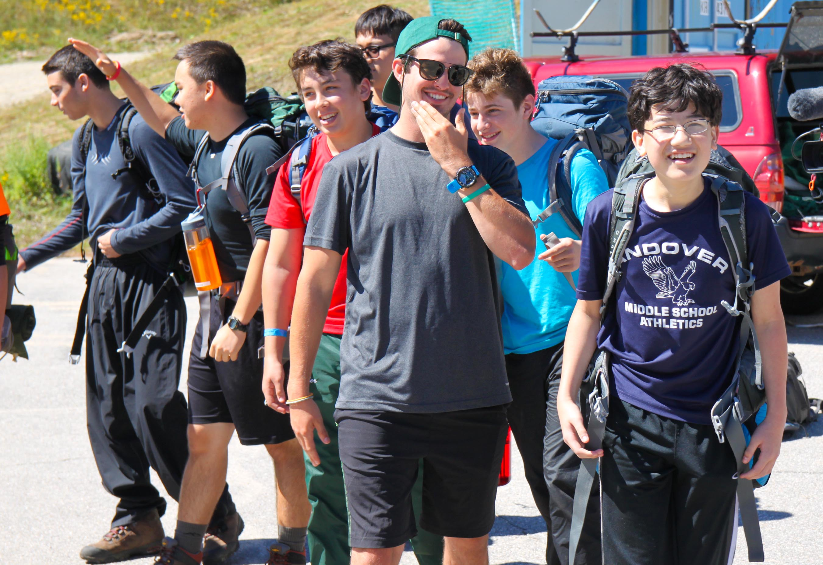 Proctor Academy Wilderness Orientation returns 7