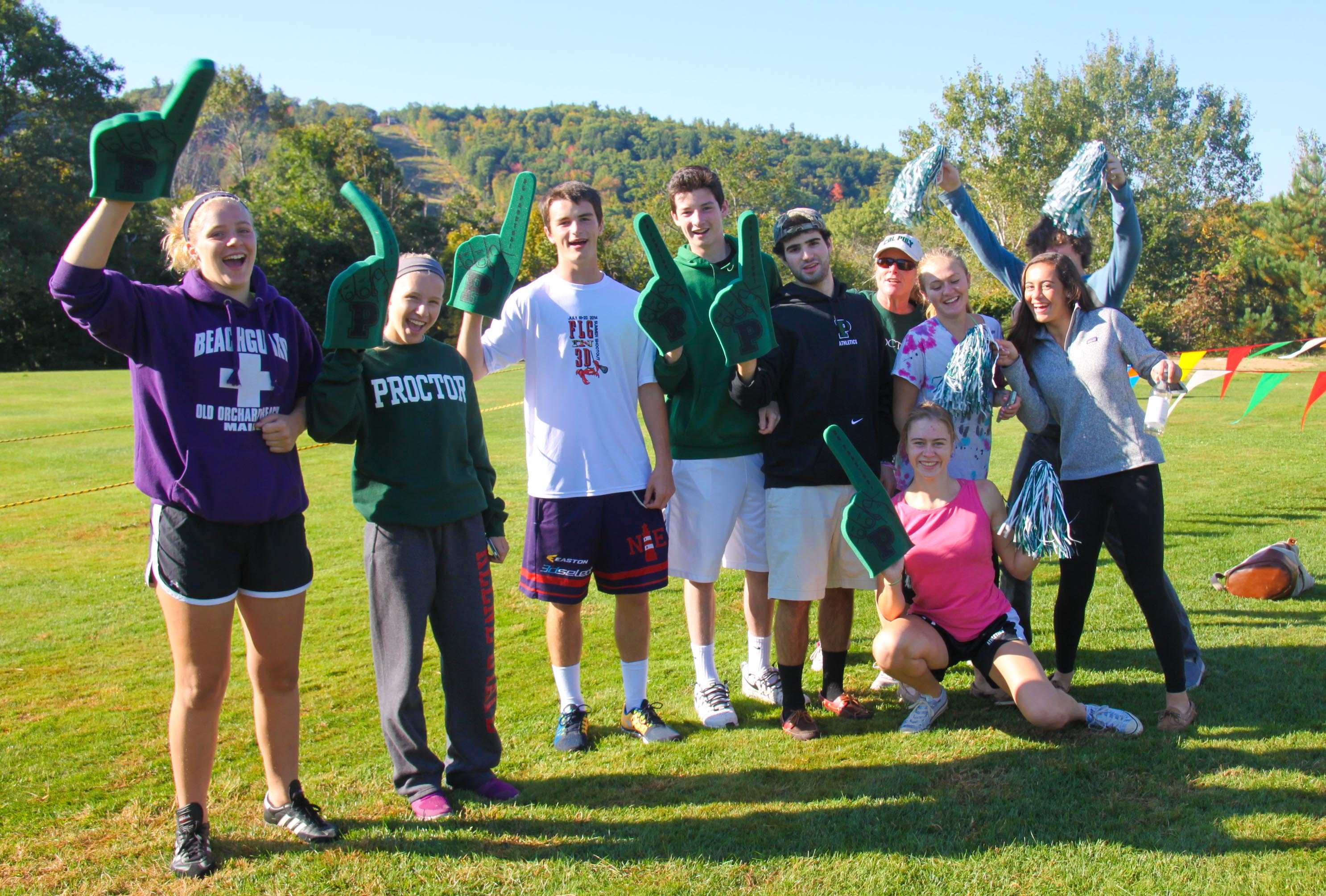 Proctor Academy and Special Olympics