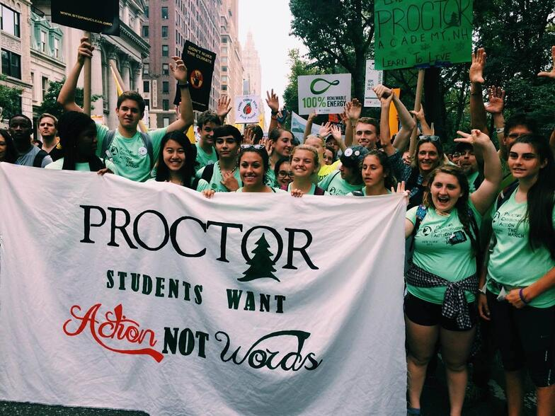 Proctor Academy Environmental Stewardship