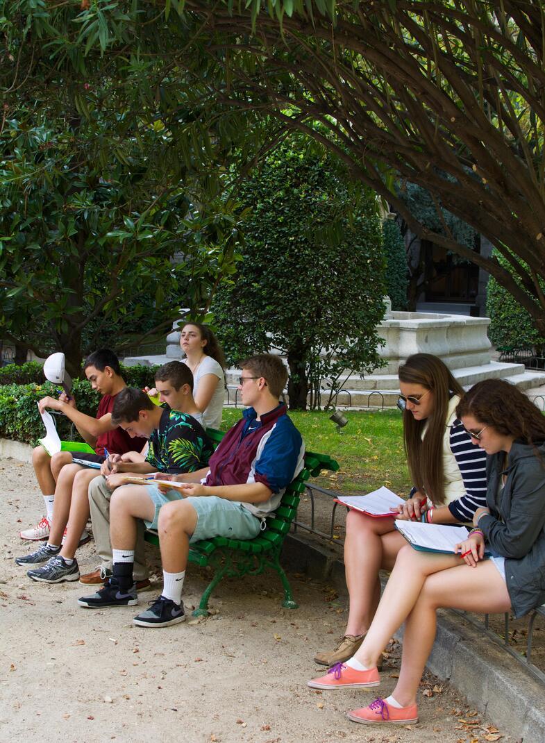 Proctor en Segovia experiential education modern art