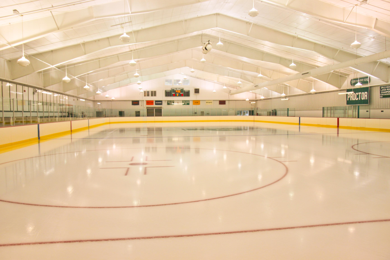 Proctor Academy hockey rink