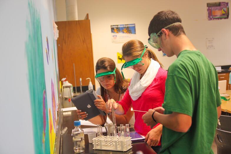 Proctor Academy Chemistry Class