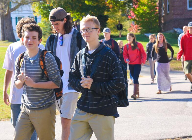Proctor Academy Fall Family Weekend