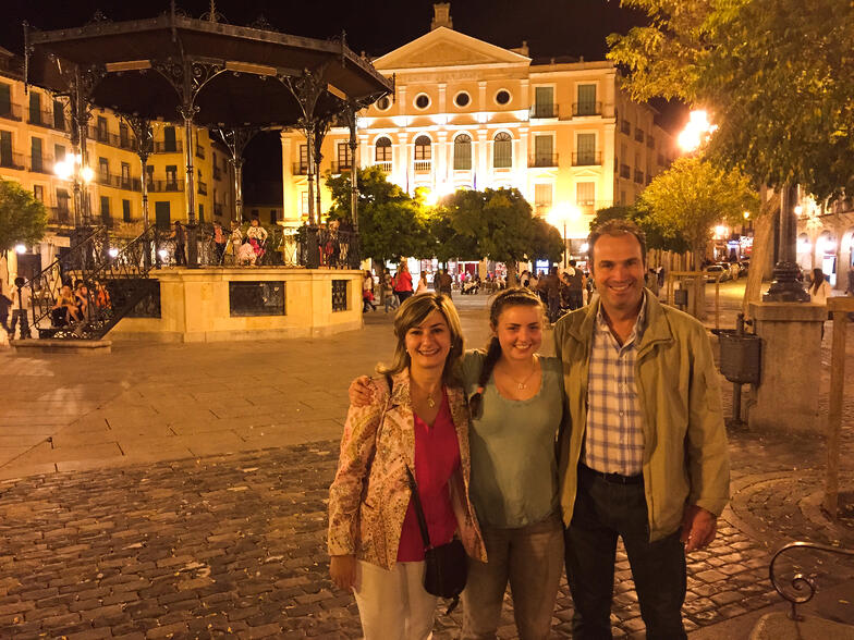 Proctor en Segovia study abroad Spain homestay