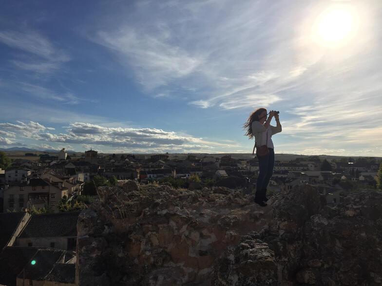 Proctor en Segovia afternoon activity photography