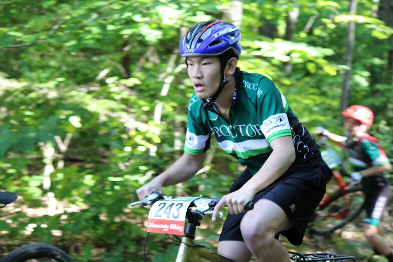 Proctor Academy Mountain Biking