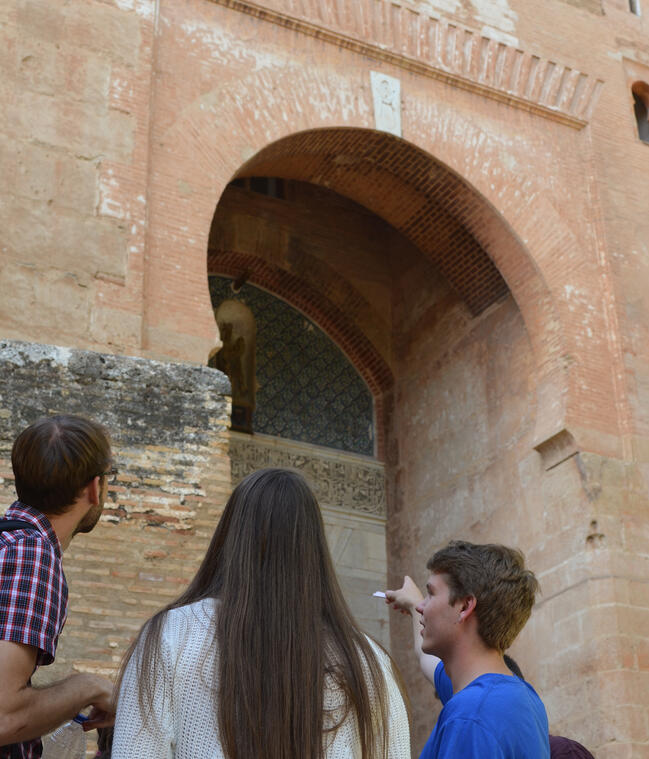 Experiential education studying the history of Islamic Spain at the Alhambra