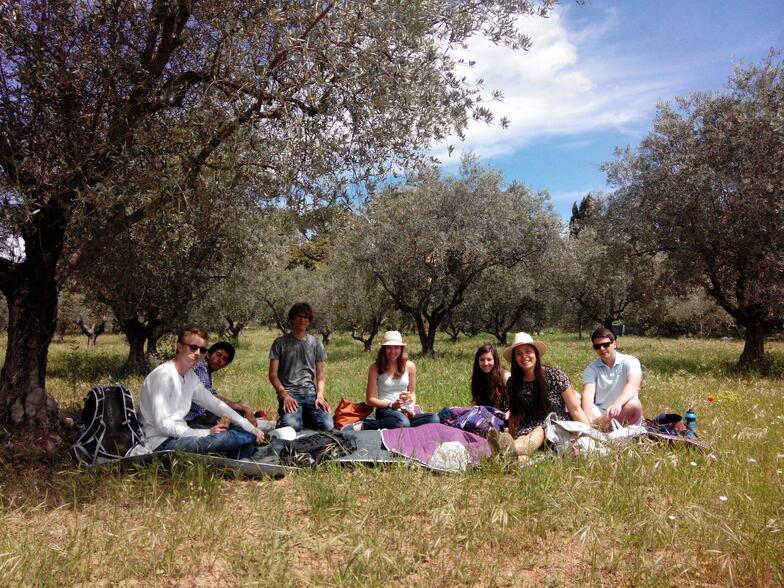 lourmarin picnic