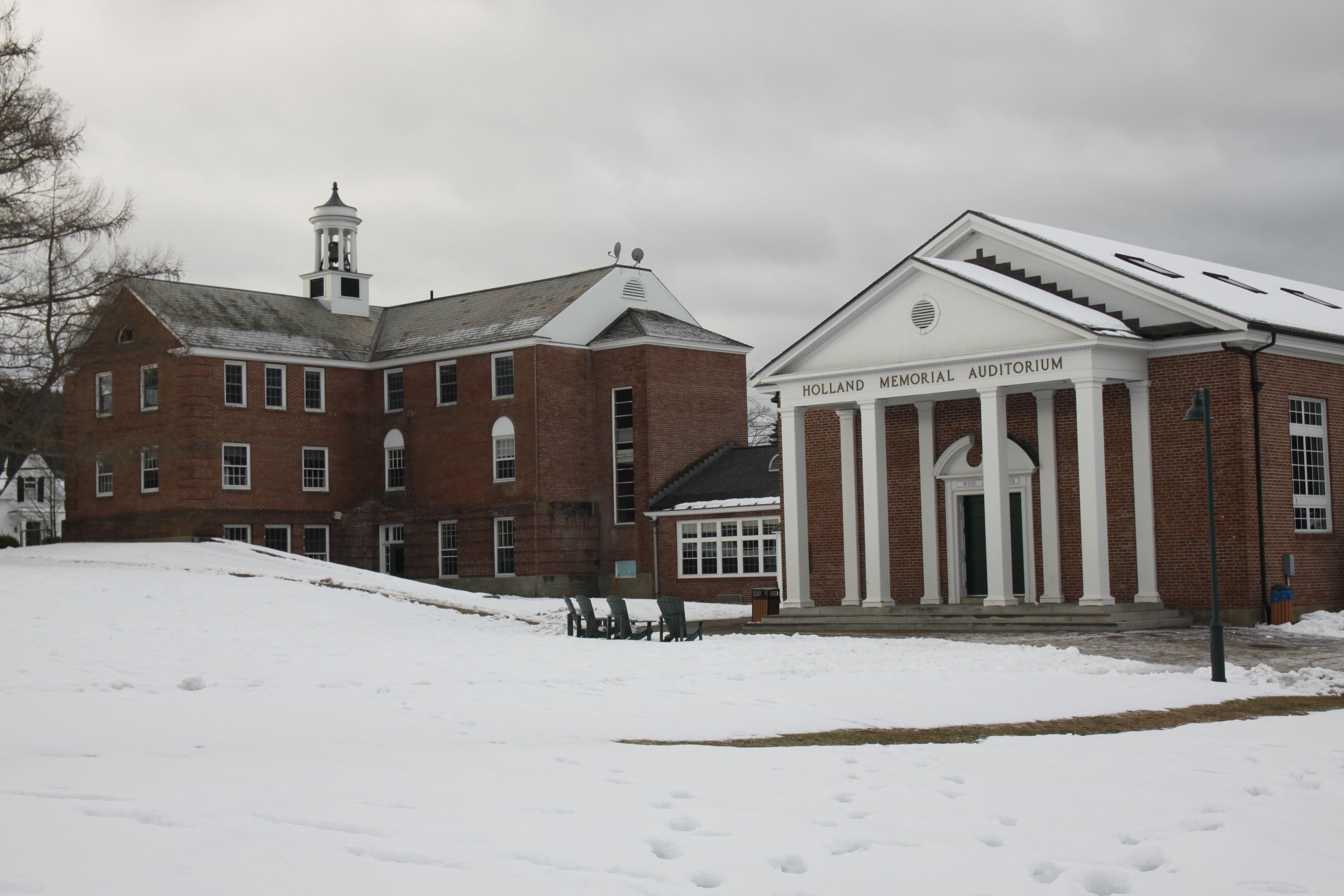 Proctor Academy campus