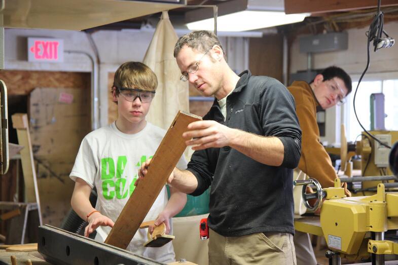 Proctor Academy industrial arts