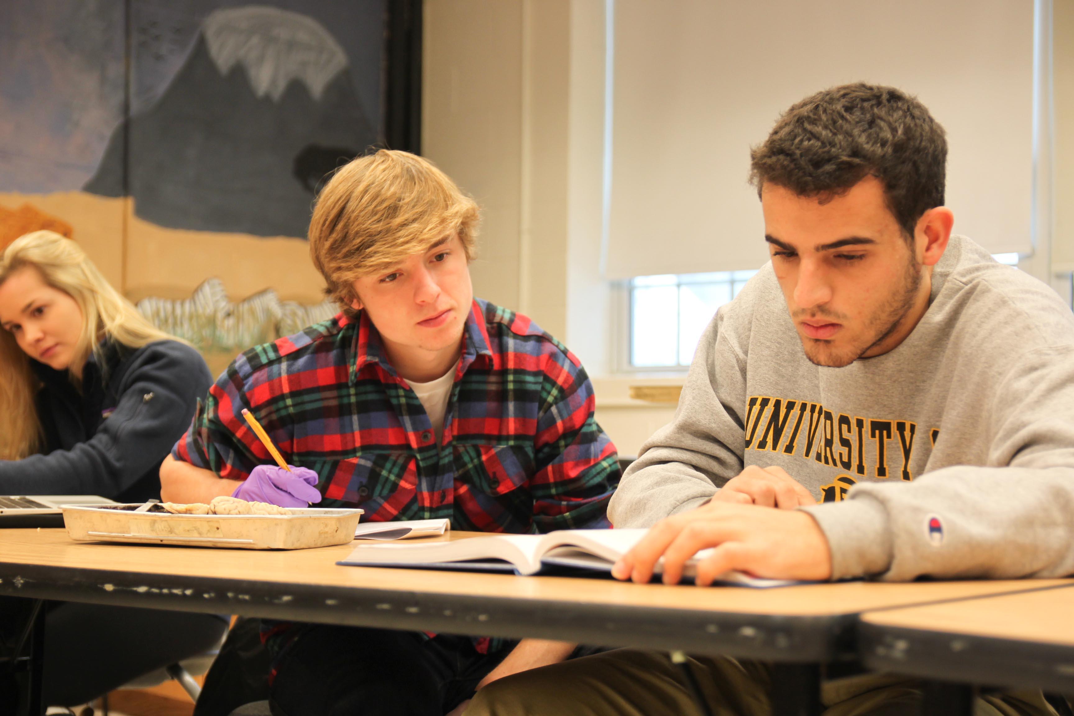 Proctor Academy science class