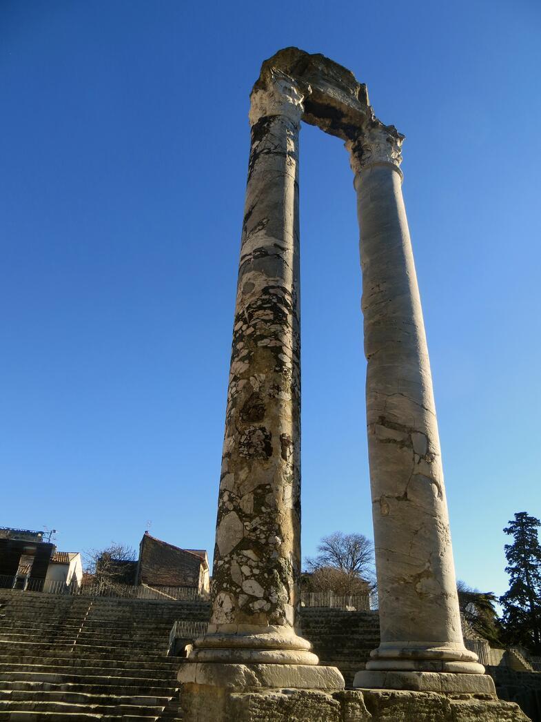 Arles, Roman, European Art Classroom