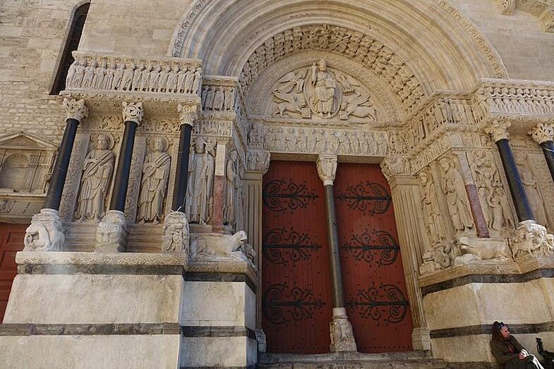 St. Trophime, Arle, France, EAC, Proctor Academy