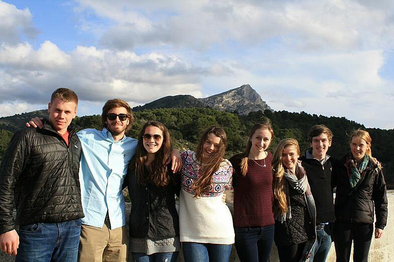 European Art Classroom, Proctor Academy, art, aix-en-provence, France