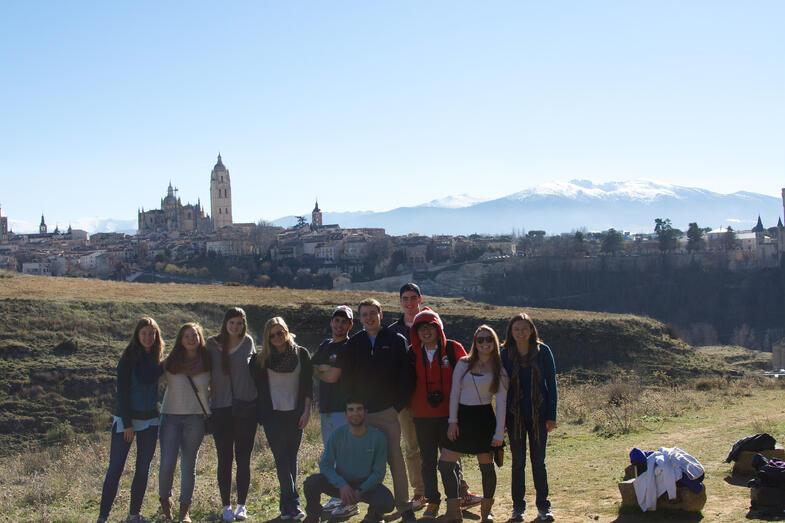 Proctor en Segovia orientation walk