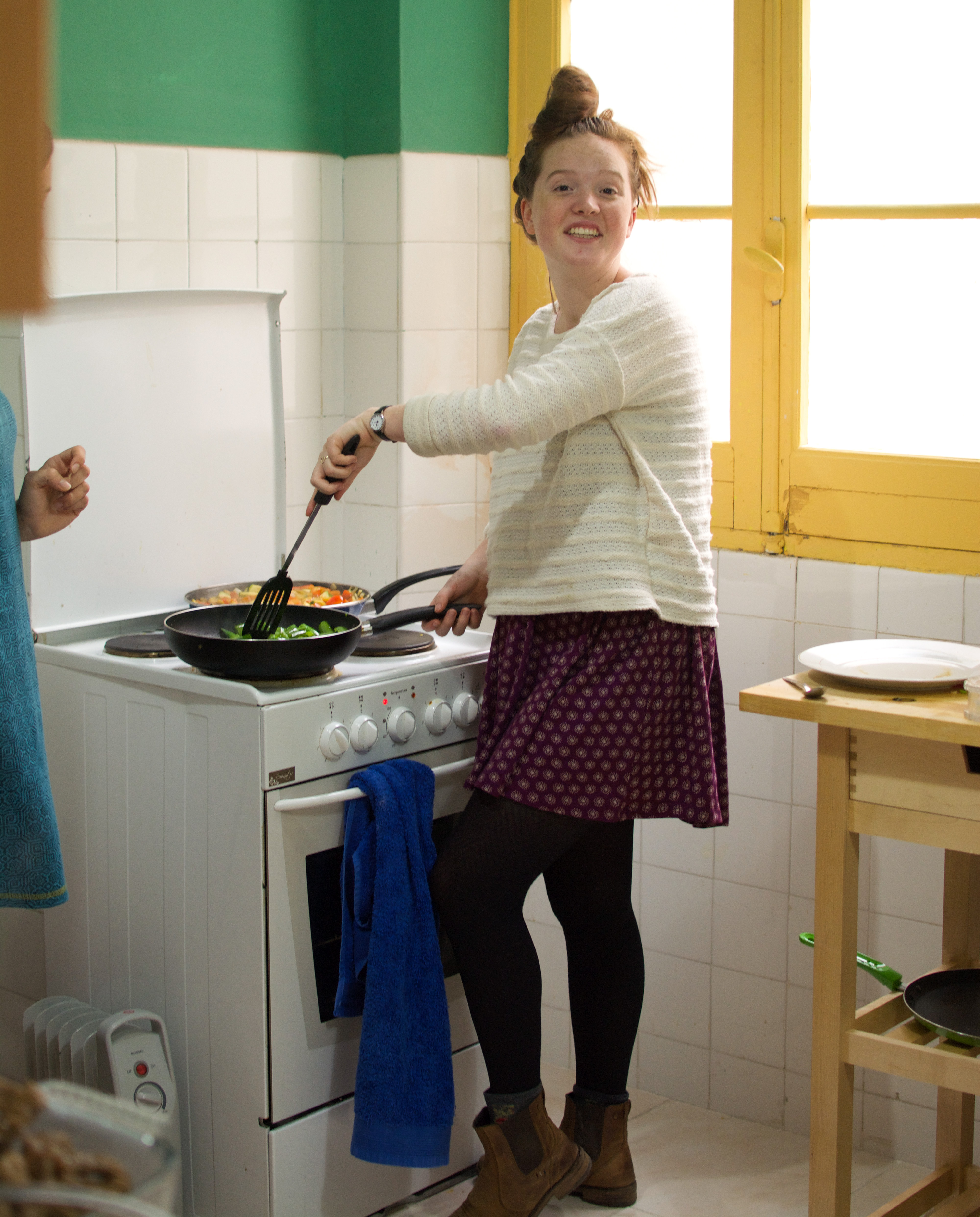 Proctor en Segovia cooking activity