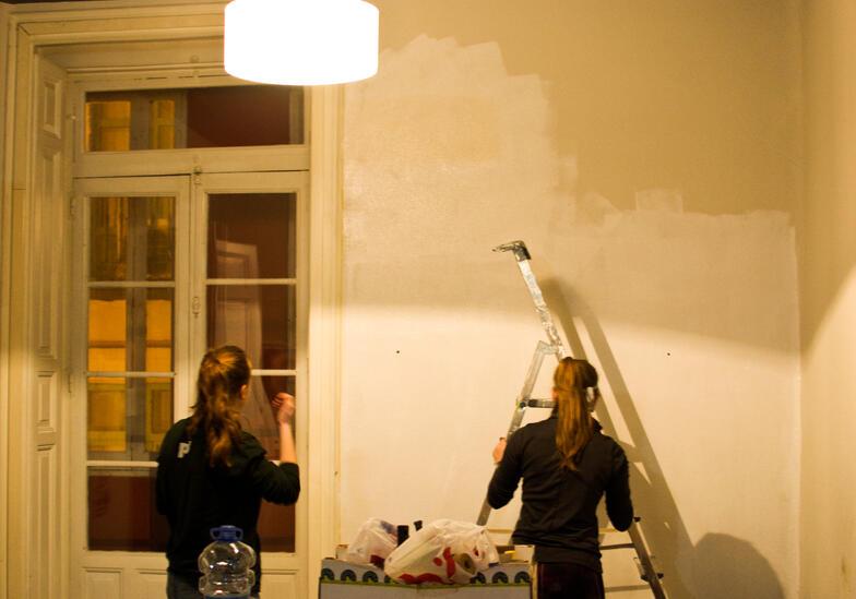 Proctor en Segovia mural afternoon activity