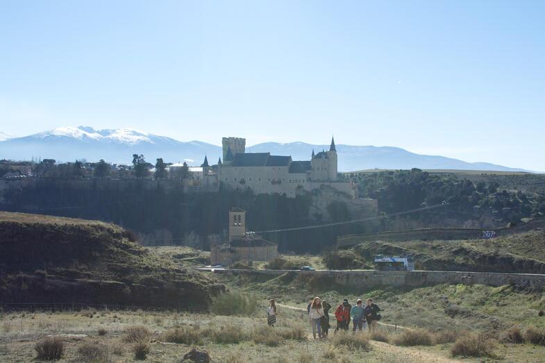 Proctor en Segovia orientation hike