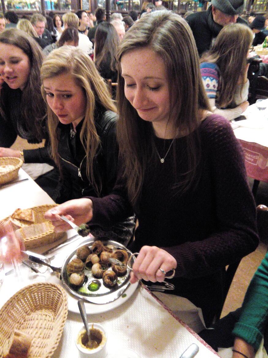 escargot chartier european art classroom proctor academy new hampshire aix en provence france