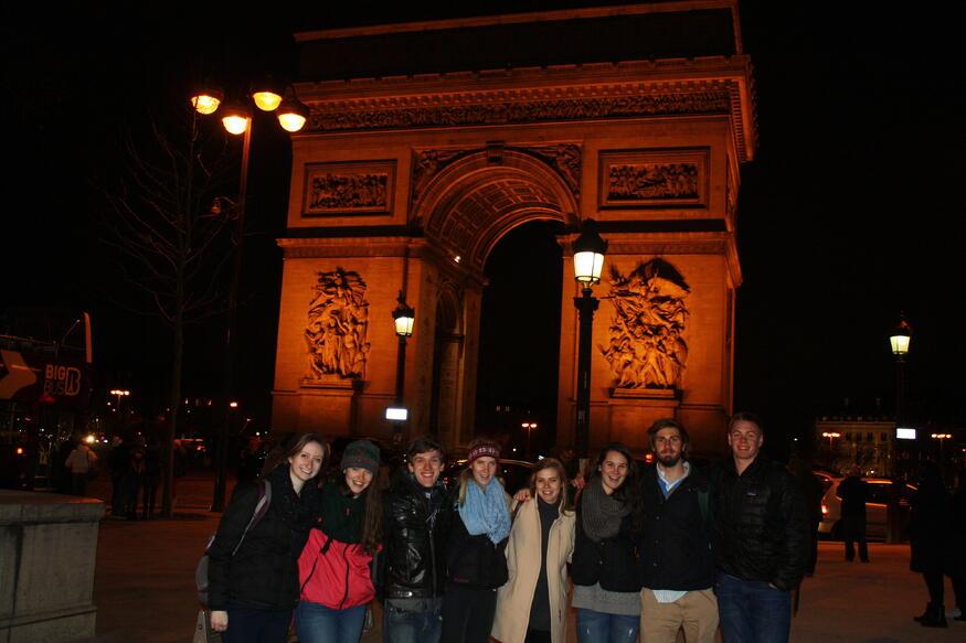 arc triumph proctor academy european art classroom france