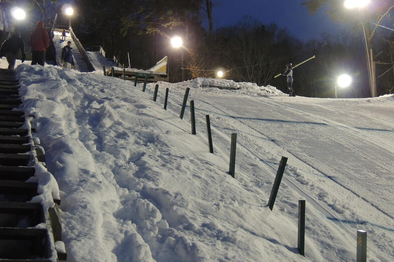 Proctor Academy Ski Jumping