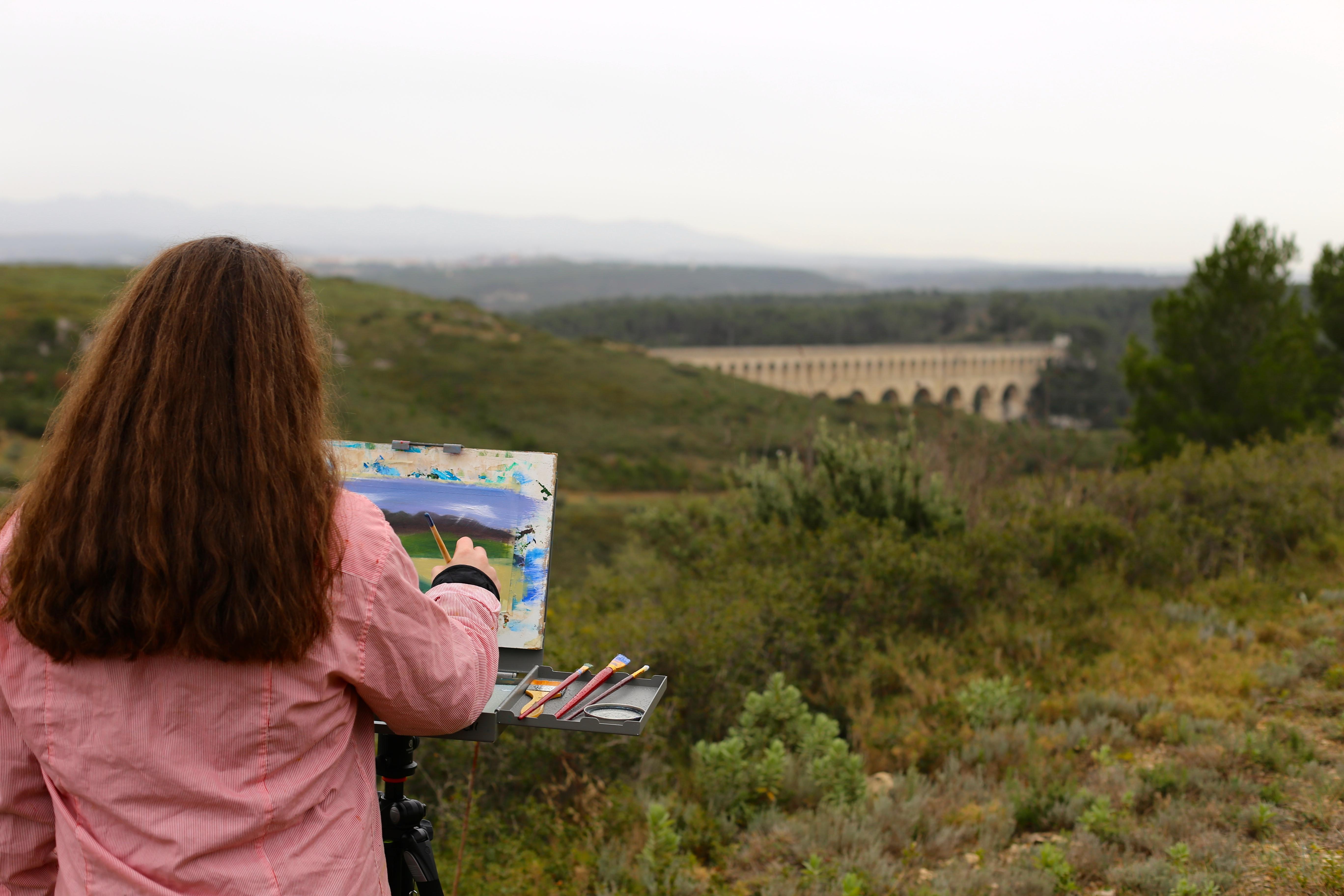 European Art Classroom, Proctor Academy, Aix en Provence, France