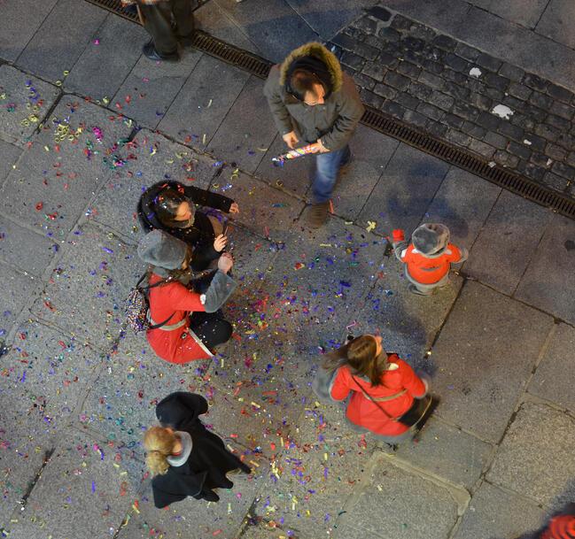 Carnaval week in Segovia