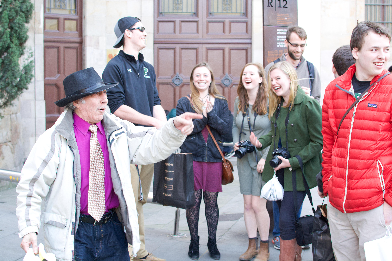 Proctor en Segovia experiences Barcelona's Gothic quarter