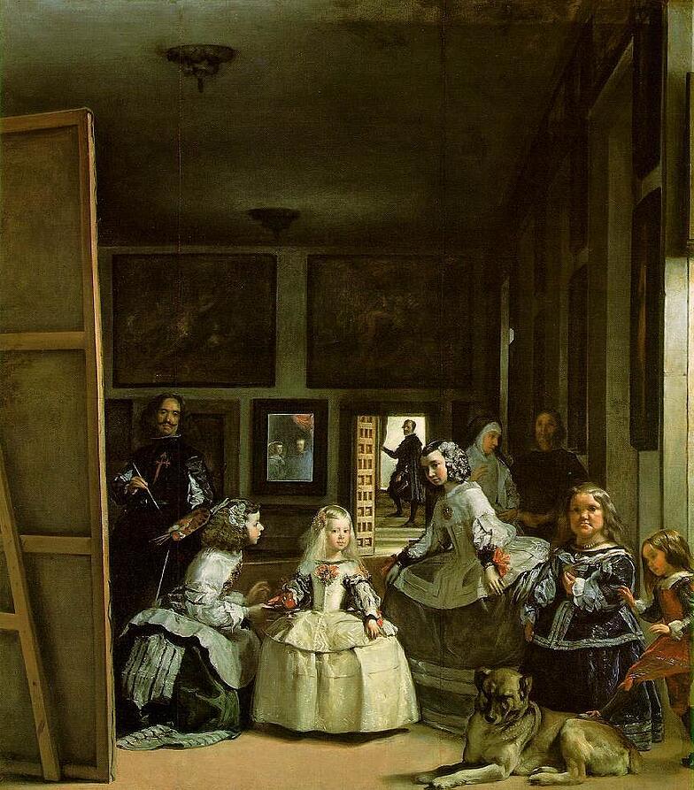 velazquez.meninas european art classroom proctor academy aix en provence france