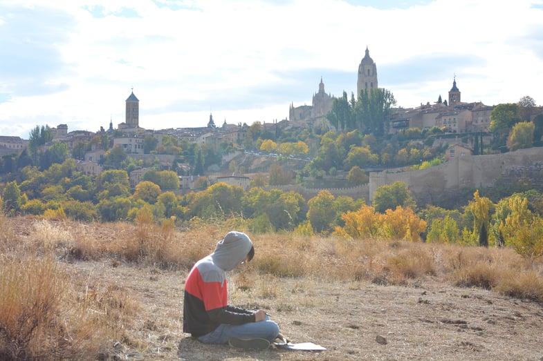 Proctor en Segovia English class!