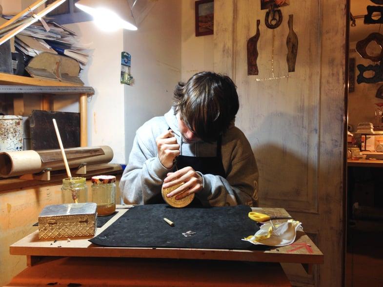 Proctor en Segovia Metal Arts