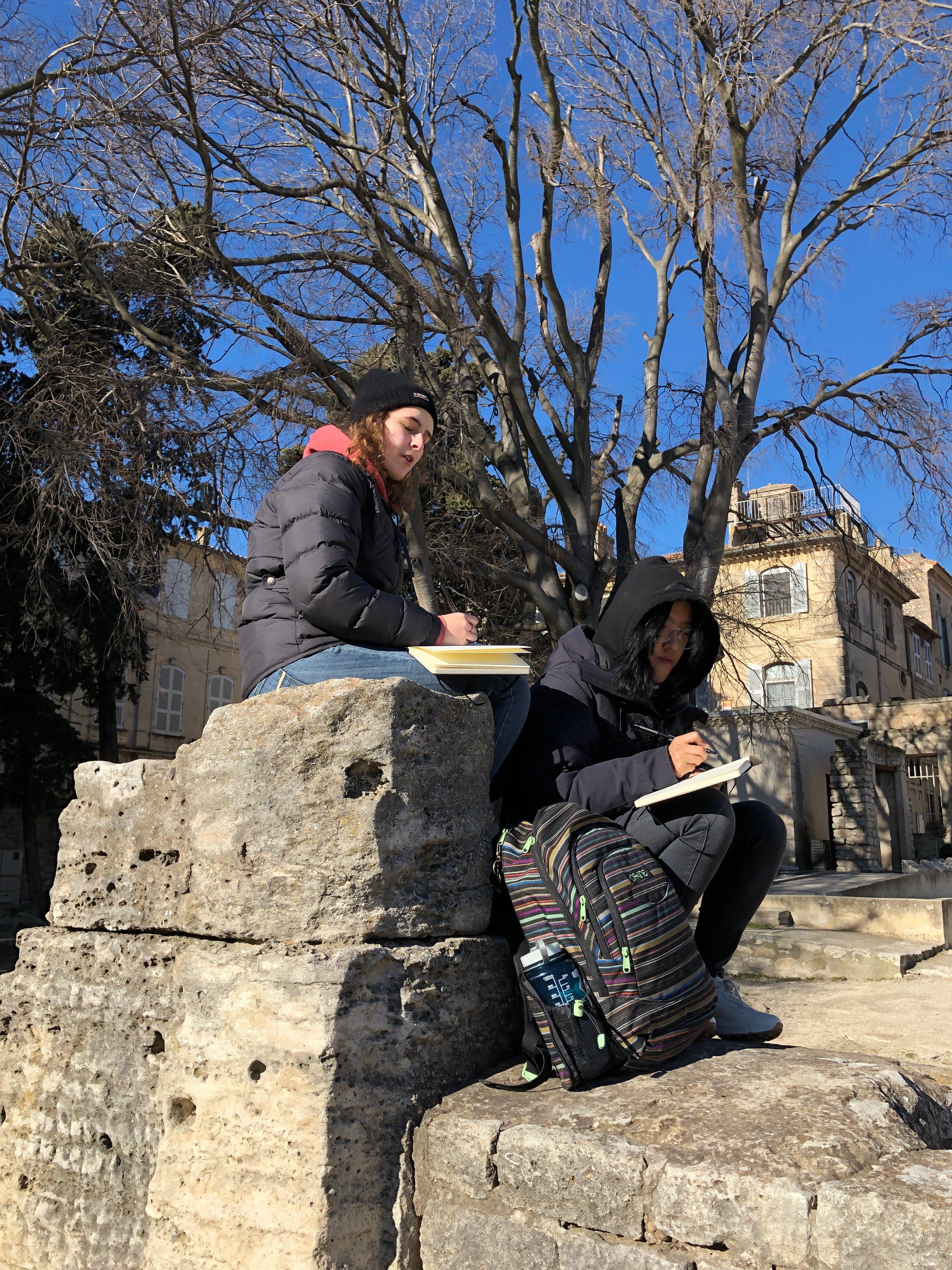 European Art Classroom Proctor Academy study abroad