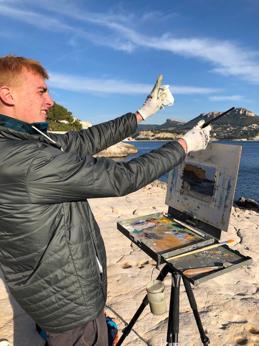 Proctor Academy European Art Classroom Study Abroad Art Immersion