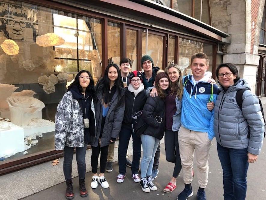 European Art Classroom Proctor Academy Study Abroad Program