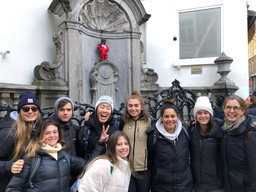 Proctor Academy European Art Classroom Art Immersion Program