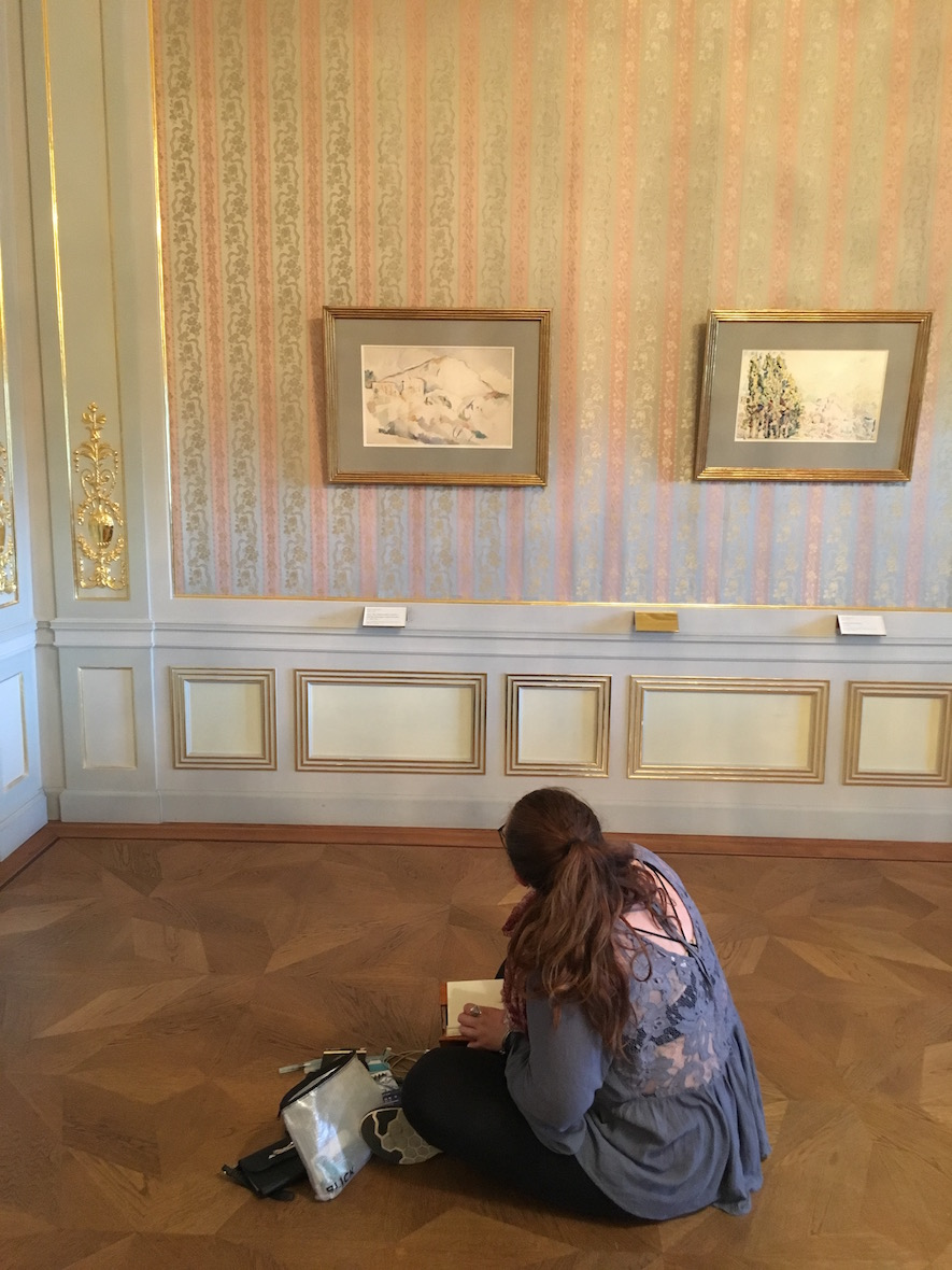 Proctor Academy European Art Classroom Study Abroad Program Boarding School