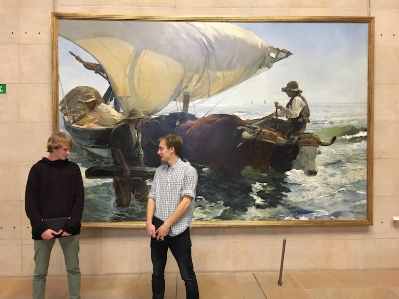 Proctor Academy European Art Classroom Off-Campus Abroad Program High School