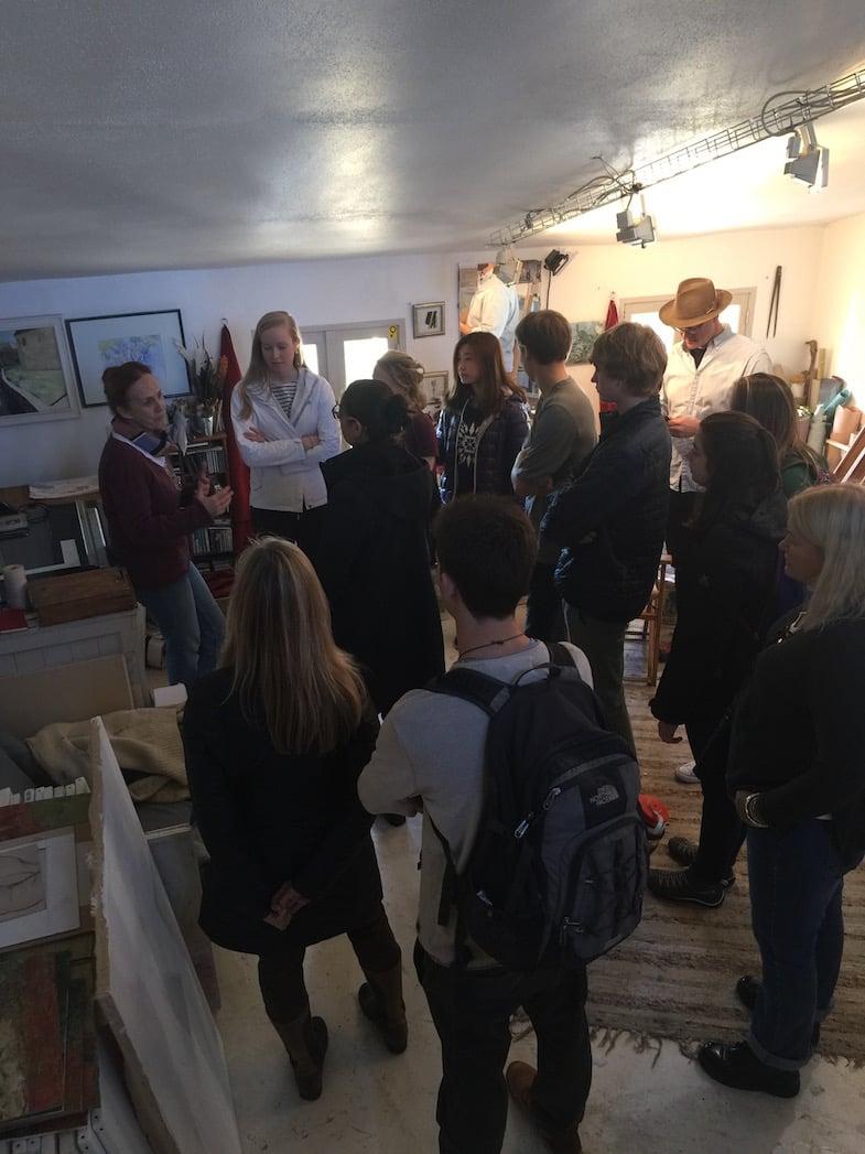 European Art Classroom Proctor Academy Study Abroad Boarding School