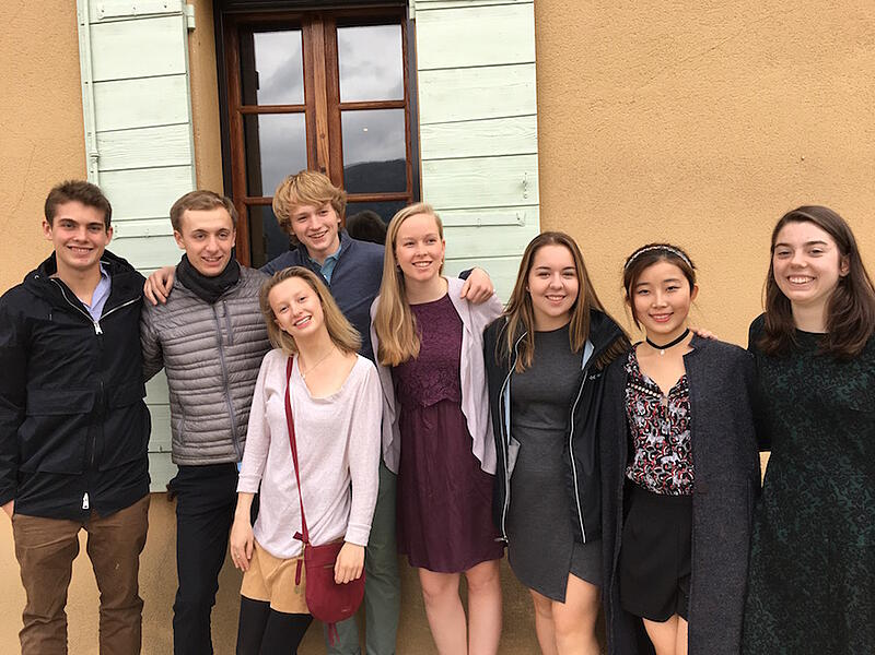 Proctor Academy European Art Classroom Study Abroad High School