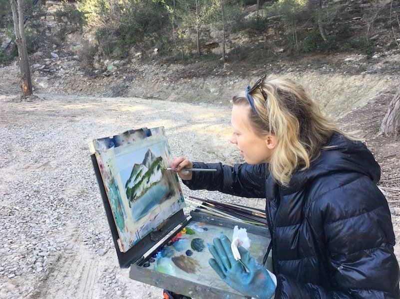 Proctor Academy European Art Classroom Study Abroad High School Boarding School