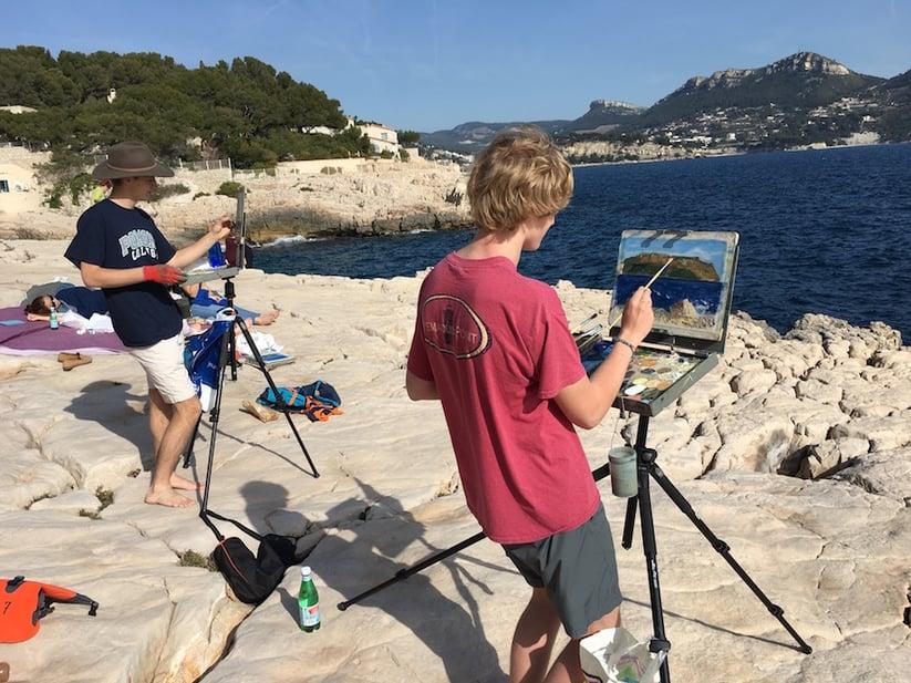 Proctor Academy European Art Classroom Study Abroad Boarding School