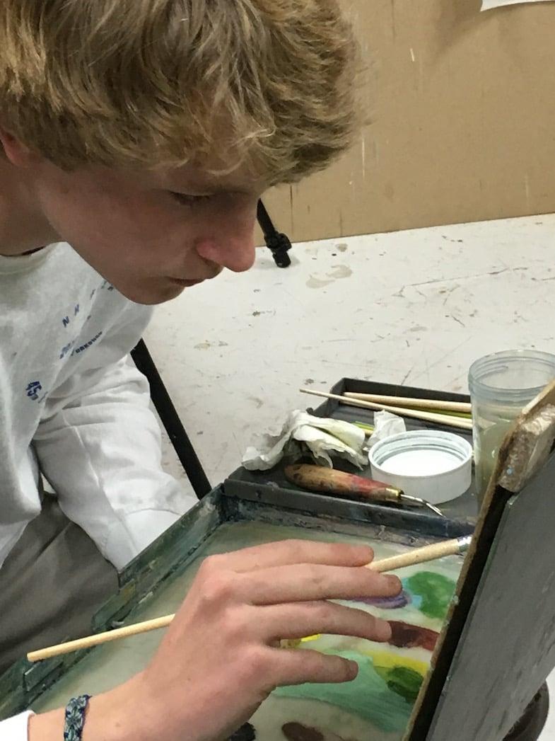 European Art Classroom Proctor Academy Study Abroad High School
