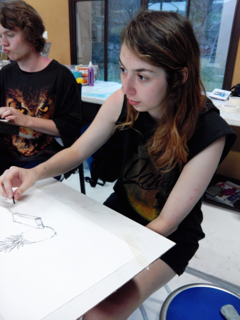European Art Classroom Proctor Academy Off-Campus program