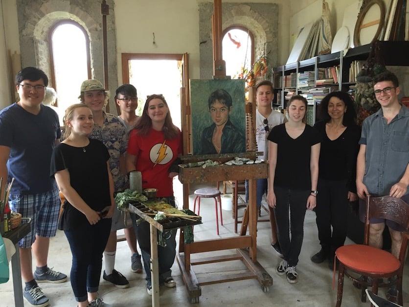 European Art Classroom Proctor Academy