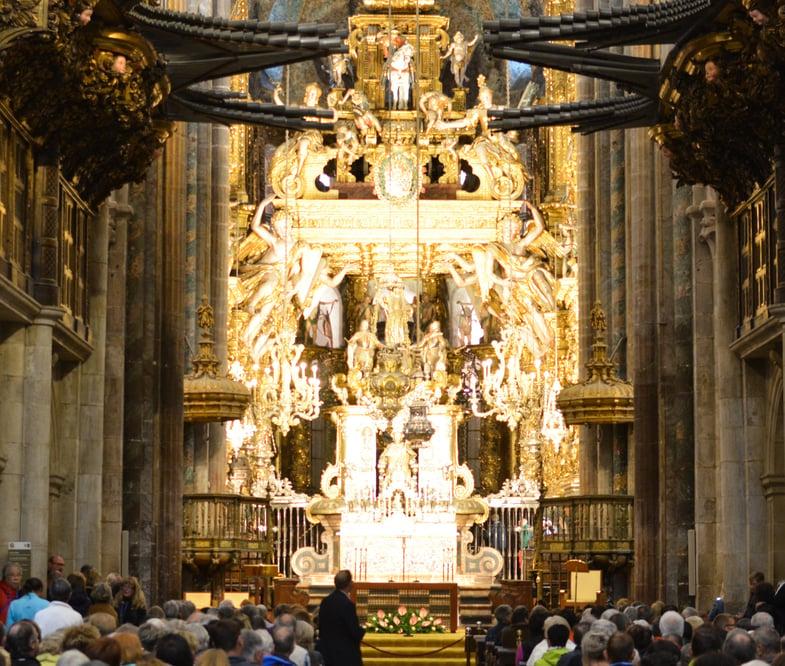 Proctor en Segovia in Santiago de Compostela's Cathedral