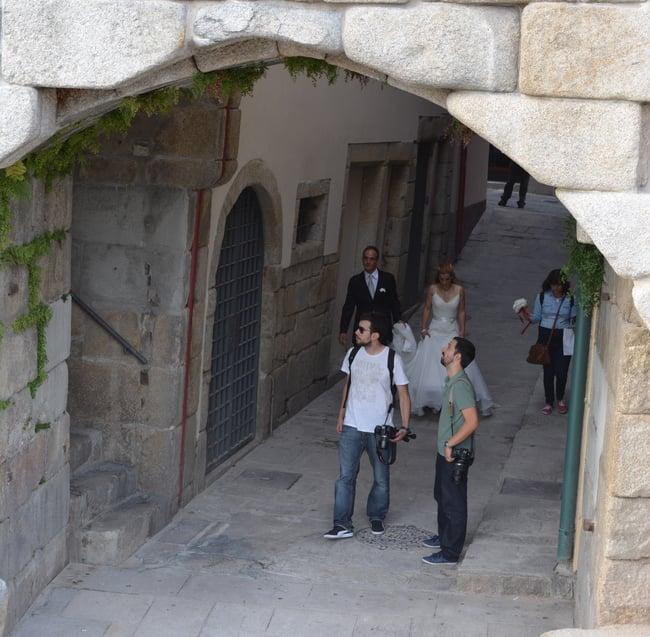 Proctor en Segovia visits Porto, Portugal