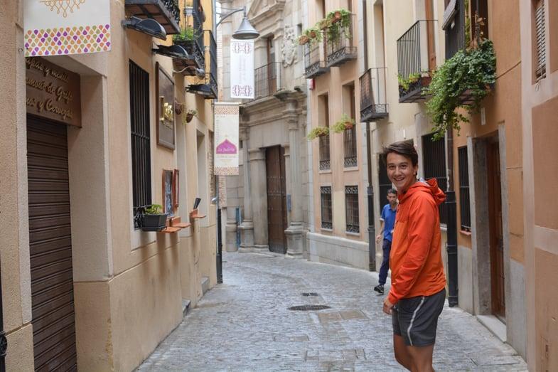 Proctor en Segovia in Segovia's Jewish quarter